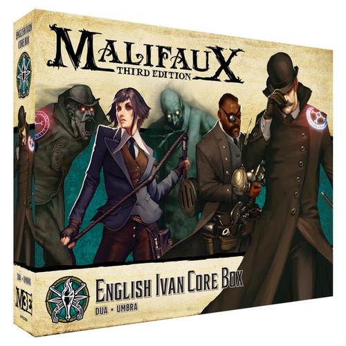 Malifaux: Explorer's Society - Ivan Core Box