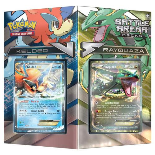 Pokemon TCG: Decks and Starters - Pokemon TCG: Battle Arena Decks, Rayquaza vs. Keldeo