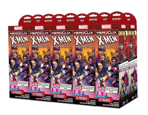 HeroClix: Marvel - X-Men Rise and Fall Booster Brick (10)