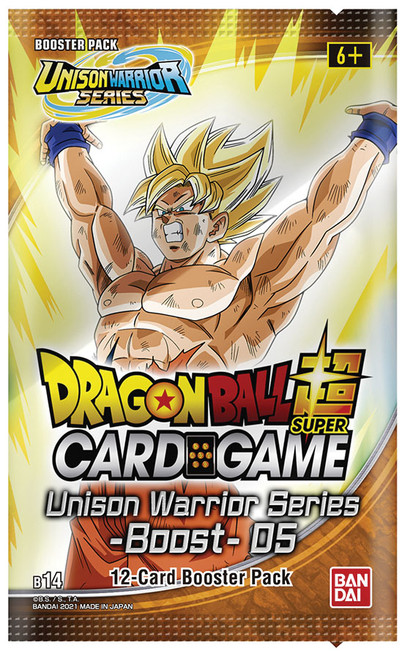 DragonBall Super: Boosters and Booster Boxes - Cross Spirits Booster Display (24) Unison Warriors - Set 5 (B14)