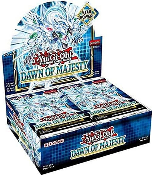 Yu-Gi-Oh: Dawn of Majesty Booster Display (24)