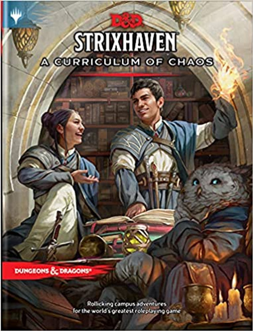 (Preorder) Dungeons & Dragons: Books - Strixhaven: Curriculum of Chaos