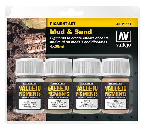 Paint: Vallejo - Pigments Pigments: Mud & Sand