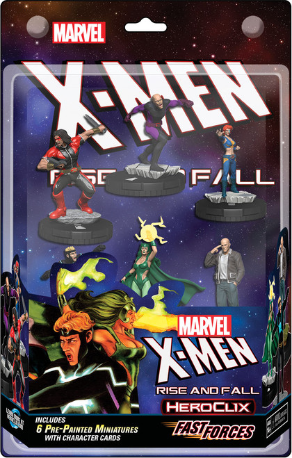 HeroClix: X-men Rise And Fall Fast Forces