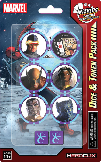HeroClix: X-men Rise And Fall Dice And Token Pack