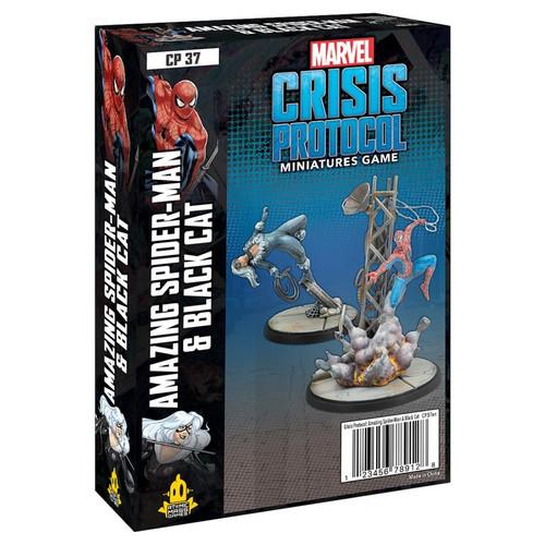 Marvel: Crisis Protocol: Spider-Man & Black Cat Character Pack