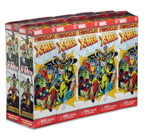 HeroClix: Marvel - The Uncanny X-Men 10 Count Booster Brick
