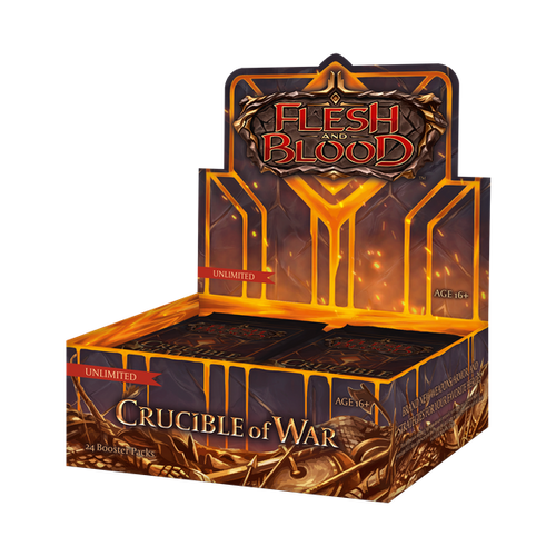 Flesh & Blood: Crucible of War Unlimited Booster Display (24)