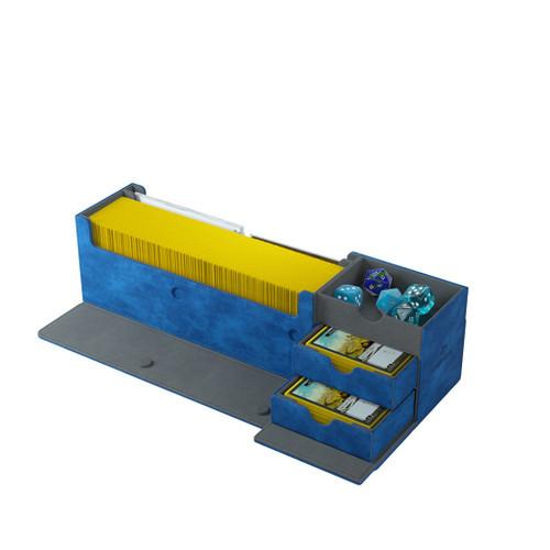 Deck Boxes: Premium Multi Dboxes - Cards' Lair 400+ (Blue)