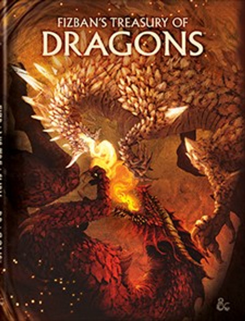 (Preorder) Dungeons & Dragons: Books - Fizban's Treasury of Dragons (Alt Cover)