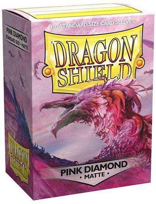 Card Sleeves: MTG Sleeves - Dragon Shields: (100) Matte - Pink Diamond