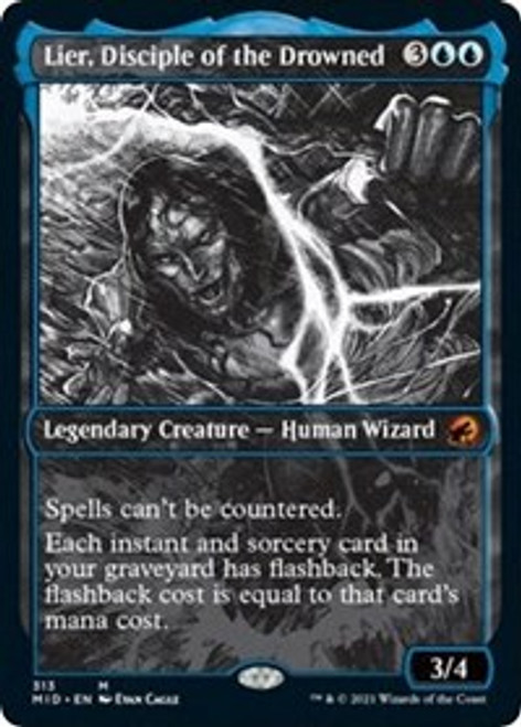Lier, Disciple of the Drowned (Showcase) - Innistrad: Midnight Hunt