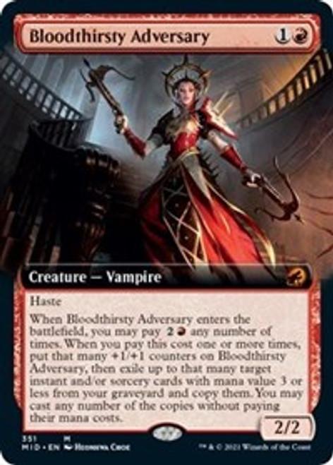Bloodthirsty Adversary (Extended Art) - Innistrad: Midnight Hunt