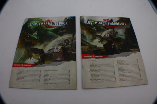 (Secondhand) Dungeons & Dragons: Books - D&D Starter Kit - Lost Mines of Phandelver (Adventure Only)