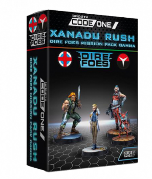 Infinity: Ariadna - CodeOne: Dire Foes Mission Pack Gamma - Xanadu Rush
