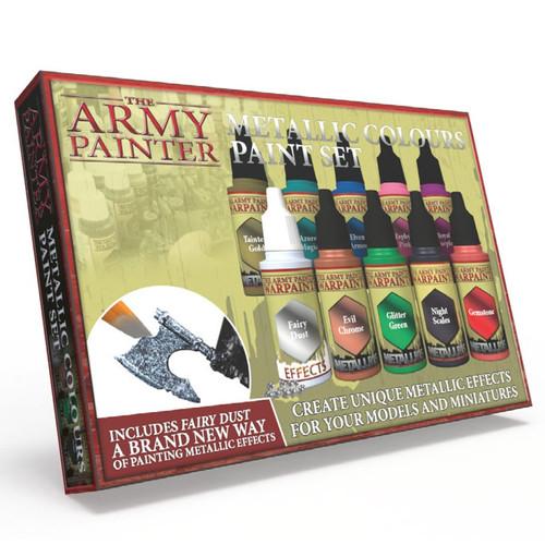 Paint: Army Painter - Paint Sets Warpaints: Metallic Colours Paint Set