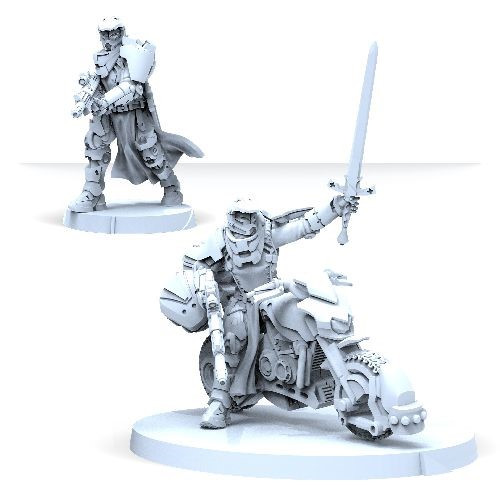 Infinity: PanOceania - Military Orders Knight Of Montesa (Red Fury)