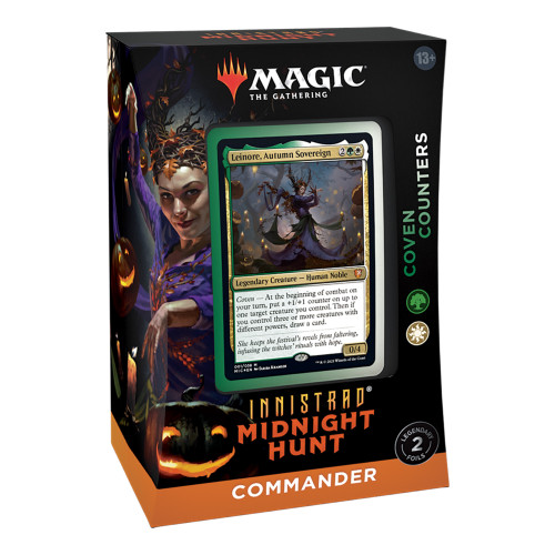 Magic The Gathering Sealed: MID Coven Counters (GW)