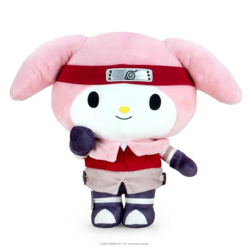 Stuffed Toys: Plush: Naruto x Hello Kitty: Sakura