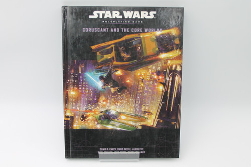 Star Wars WotC RPG: Coruscant and the Core Worlds d20 [U-B7S3 290602]