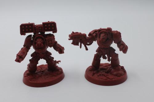 Warhammer 40k Space Marine Heroes Lot - Brother Phaello, Brother Ebellius [U-B8S5 288700]