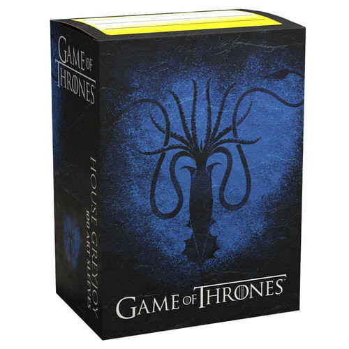 Card Sleeves: Other Printed Sleeves - Dragon Shields: (100) Brushed Art - A Game Of Thrones - House Greyjoy