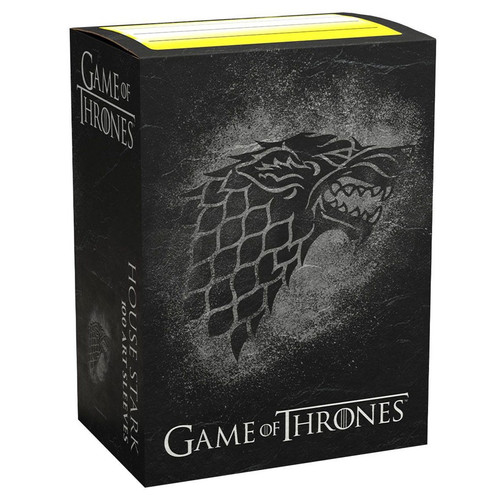 Card Sleeves: Other Printed Sleeves - Dragon Shields: (100) Brushed Art - A Game Of Thrones - House Stark