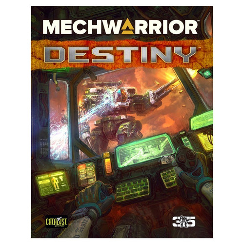 Miscellanous RPGs: Battletech: Mechwarrior - Destiny