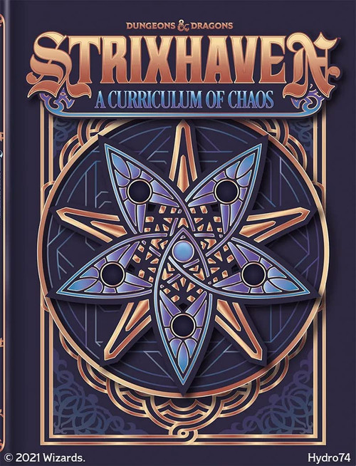 (Preorder) Dungeons & Dragons: Books - Strixhaven - Curriculum of Chaos (Alt Cover)