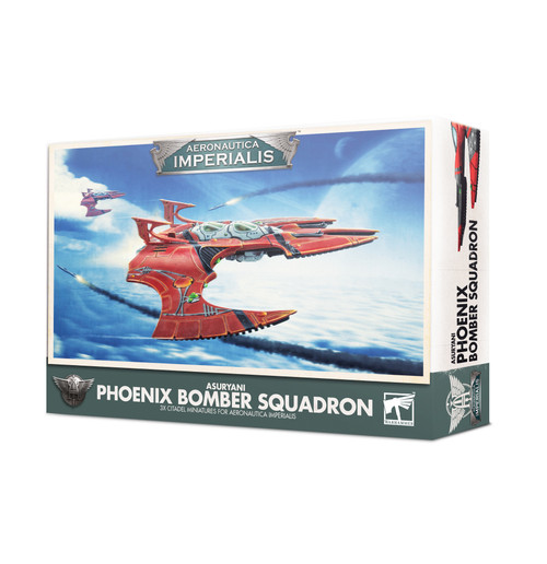 Warhammer 40K: Aeronautica Imperialis - Asuryani Phoenix Bomber Squadron