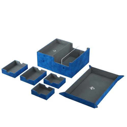 Deck Boxes: Premium Multi Dboxes - Games Lair 600+ Blue