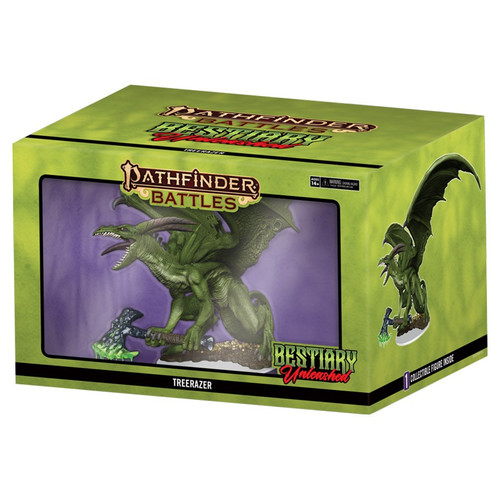 RPG Miniatures: Miniature Sets - Pathfinder Battles Bestiary Unleashed - Treerazer Premium Set (Set 20)