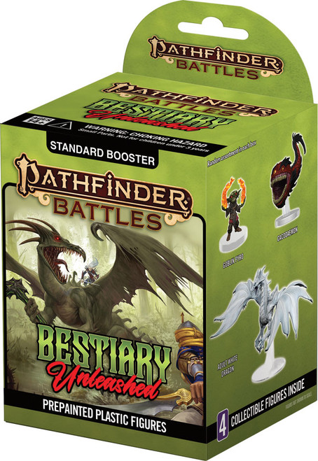 RPG Miniatures: Mini Blind Boxes and Bricks - Pathfinder Battles Bestiary Unleashed - Booster Brick (8) (Set 20)