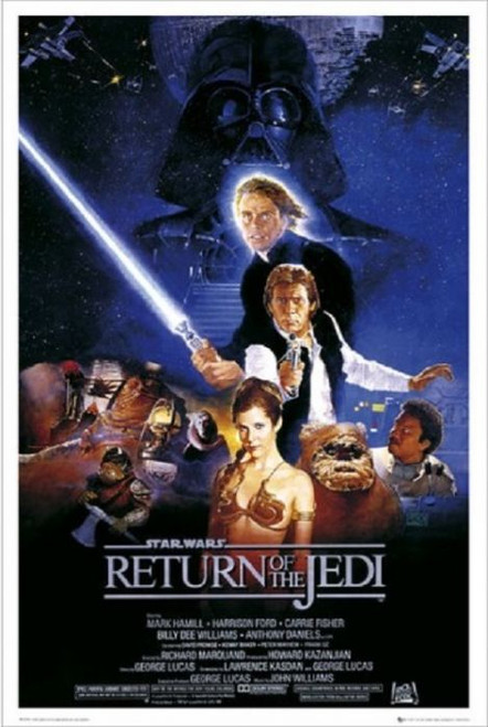 Posters: Star Wars Return of the Jedi B Style