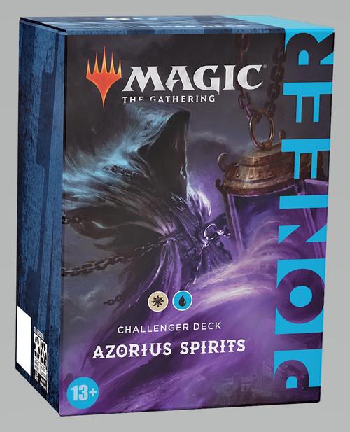 Magic The Gathering Sealed: PreMade Decks/Special - Azorius Spirits (WU) - Pioneer Challenger Deck 2021