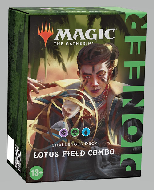 Magic The Gathering Sealed: PreMade Decks/Special - Lotus Field Combo (UBG) - Pioneer Challenger Deck 2021