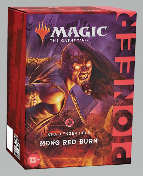 Magic The Gathering Sealed: PreMade Decks/Special - Mono Red Burn ( R ) - Pioneer Challenger Deck 2021