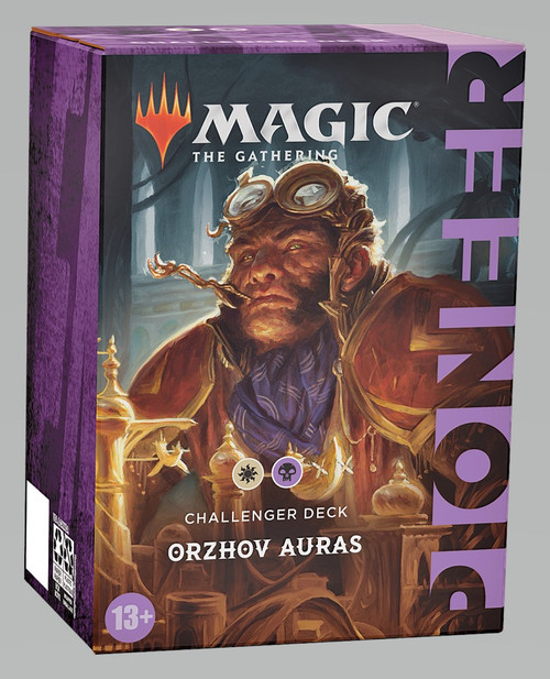 Magic The Gathering Sealed: PreMade Decks/Special - Orzhov Auras (WB) - Pioneer Challenger Deck 2021