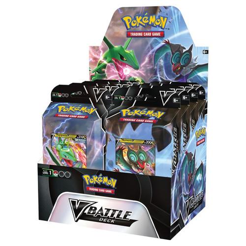 Pokemon TCG: Decks and Starters - V Battle Deck - Rayquaza/Noivern Theme Deck
