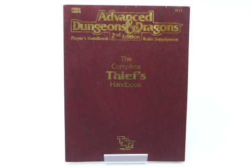 (Secondhand) Dungeons & Dragons: Books - AD&D: The Complete Thief's Handbook - #2111