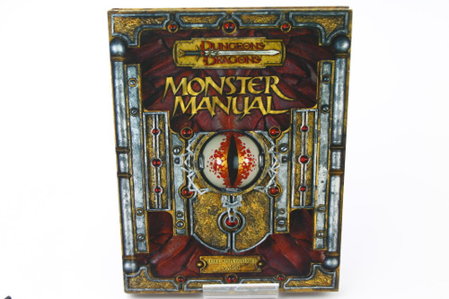 (Secondhand) Dungeons & Dragons: Books - D&D 3.5 Edition Moster Manual