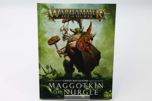 (Secondhand) Warhammer: Age of Sigmar: Rulebooks & Publications - Chaos Battletome: Maggotkin of Nurgle - Used