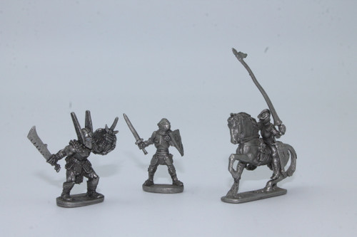 (Secondhand) Dungeons & Dragons: Miscellaneous - Ral Partha Minis Lot - Knights, Various
