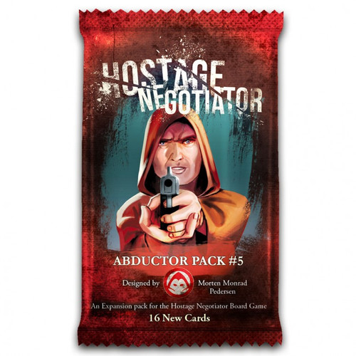 Card Games: Hostage Negotiator: Abductor Pack 5