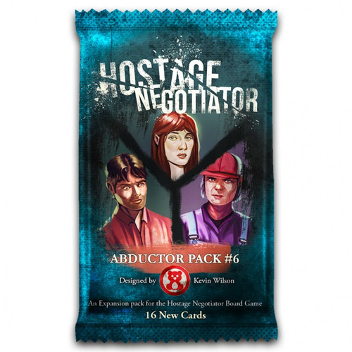 Card Games: Hostage Negotiator: Abductor Pack 6