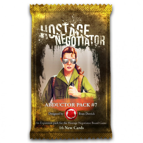 Card Games: Hostage Negotiator: Abductor Pack 7