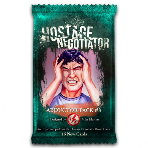 Card Games: Hostage Negotiator: Abductor Pack 8