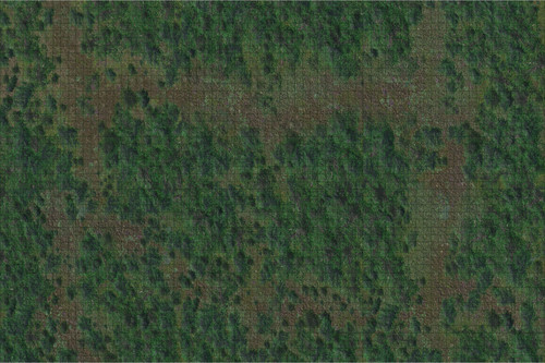Terrain/Scenery: Forest - 3x5 Battle Mat with Grid
