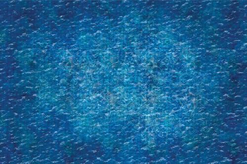 Terrain/Scenery: Ocean - 3x5 Battle Mat with Grid