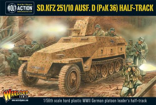 Bolt Action: Germany - Sd.Kfz 251/10 Ausf. D (Pak 36) Half-Track